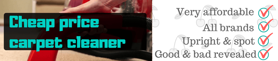 best cheap carpet cleaner reviews