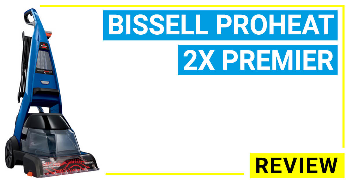 The Bissell Proheat 2x Premier Carpet Cleaner 47a23