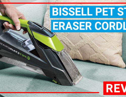 Bissell Pet Stain Eraser Cordless Portable Carpet Cleaner Reviews