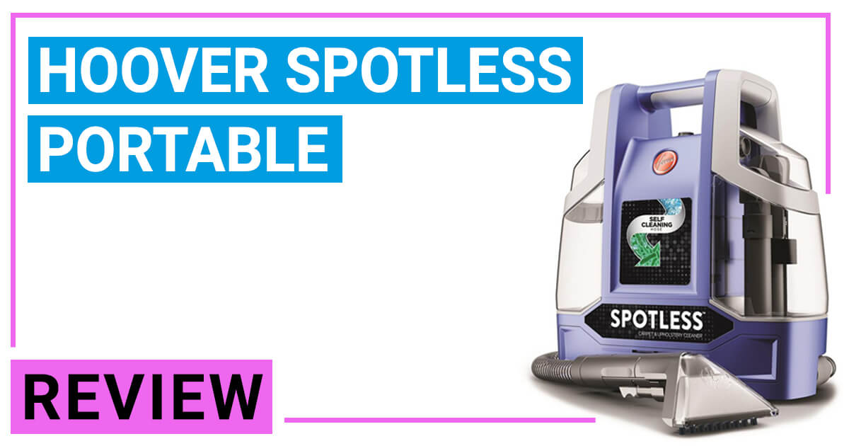 Hoover Spotless Fh11300pc Carpet Cleaner Reviews 2019