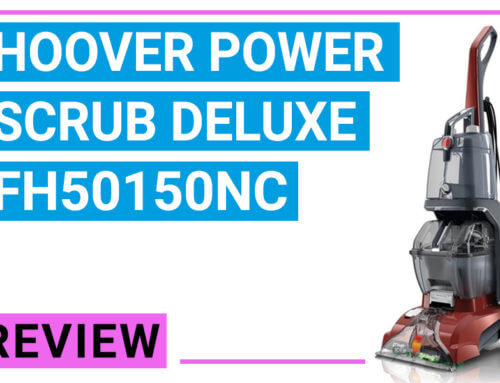 Hoover Power Scrub Deluxe Carpet Cleaner FH50150NC Reviews