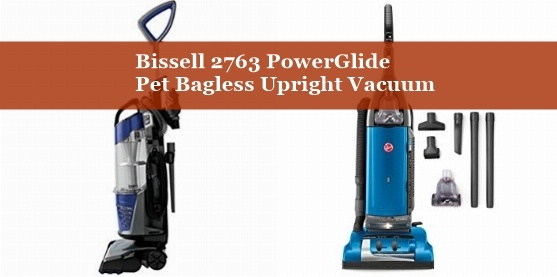 Bissell 2763 PowerGlide Pet Bagless Upright Vacuum