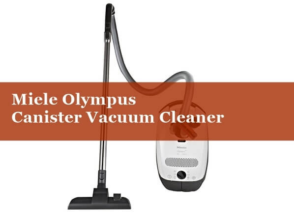 Miele S2121 Olympus Canister Vacuum Cleaner