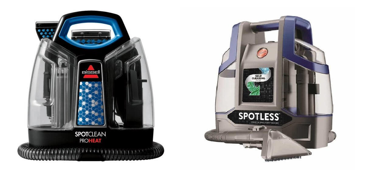 hoover spotless vs. bissell spotclean