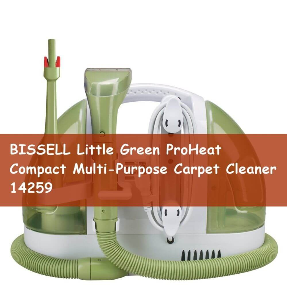BISSELL Little Green ProHeat Compact Multi-Purpose Carpet Cleaner, 14259