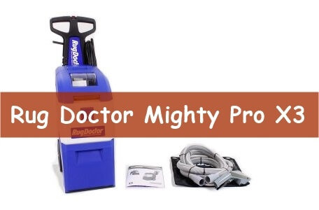 Rug Doctor Mighty Pro X3 Pet Pack