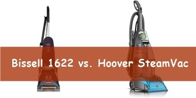 hoover steamvac vs bissell 1622