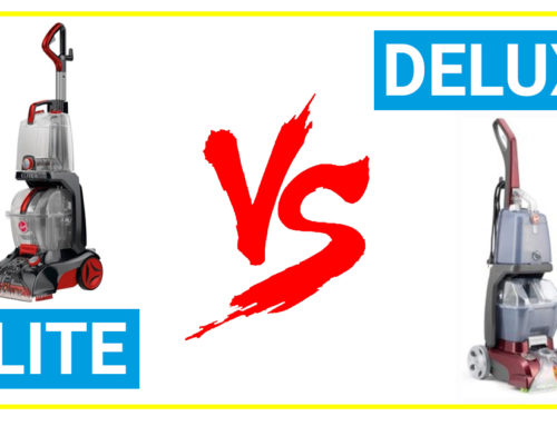 Compare hoover power scrub elite vs deluxe