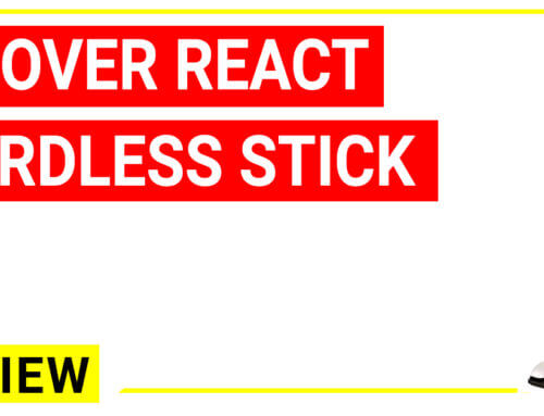 Hoover REACT Cordless Stick Vacuum Cleaner Reviews