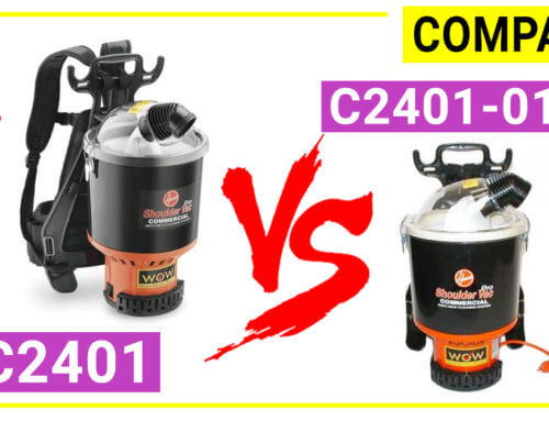 Compare Hoover C2401 and Hoover C2401-010