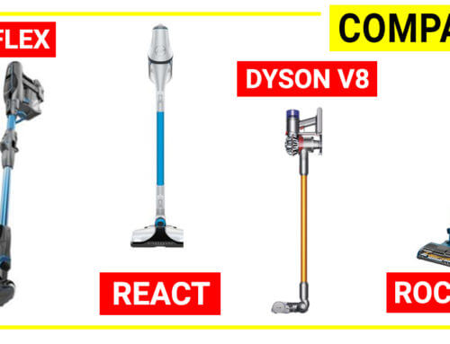 Compare Shark Ionflex vs Dyson V8 vs Hoover REACT vs Shark Rocket