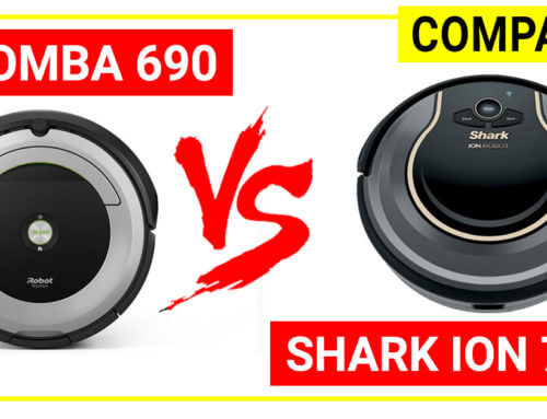 Shark Ion robot 750 vs Roomba 690