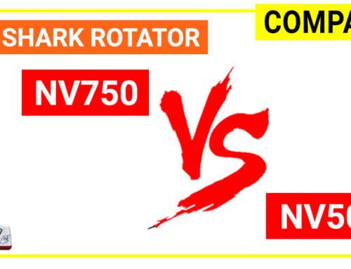 Compare Shark Rotator NV750 vs NV500