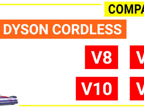 Compare Dyson cordless: V6, V7, V8 and V10