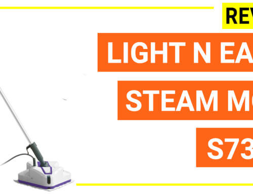 Light N Easy steam mop (S7338) reviews