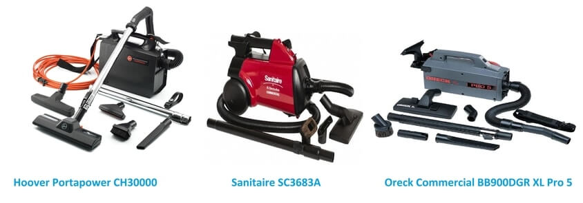 Hoover Portapower CH30000, Sanitaire SC3683A and Oreck Commercial BB900DGR XL Pro 5 review