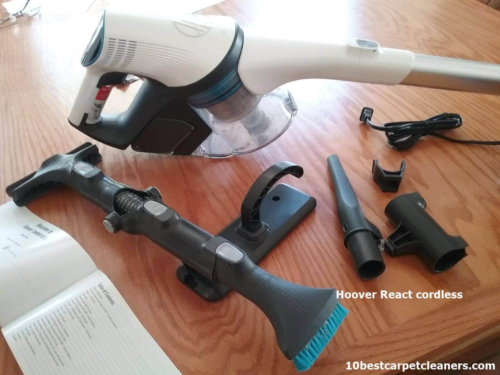 Hoover REACT Whole Home Cordless Stick Vacuum reviews