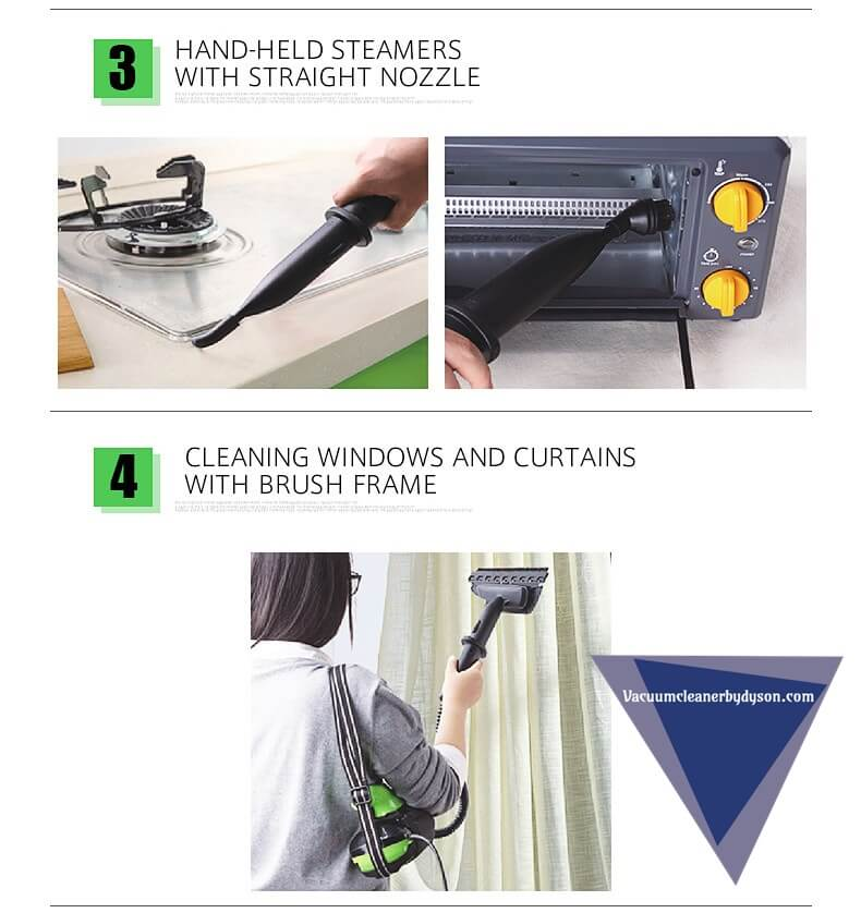 SKG Hot Steam Mops & Carpet and Floor Cleaning Machines feature 2