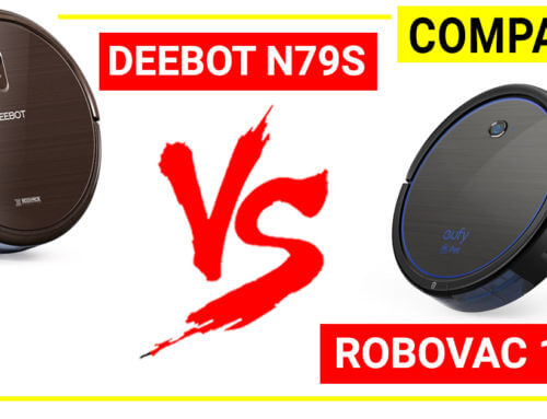 Compare Deebot N79S and Robovac 11c Pet robot vacuum