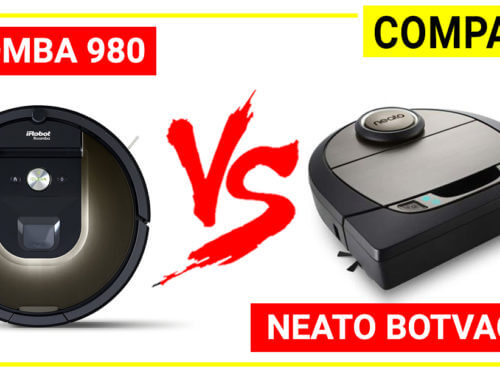 Neato botvac D7 vs Roomba 980 – A detail comparison