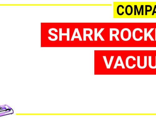Shark Rocket vacuum: A detail comparison