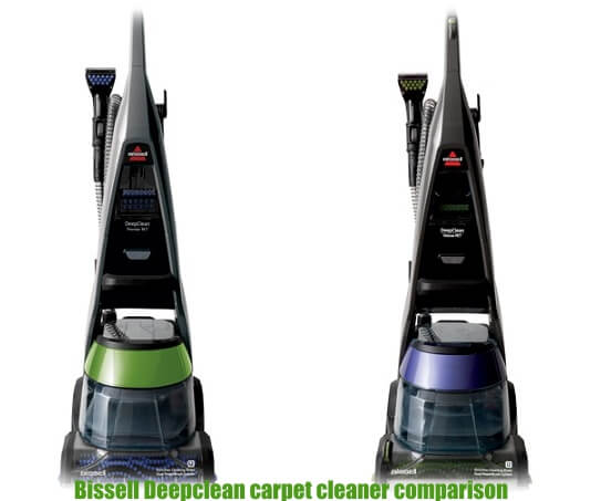 Bissell Deep Clean 36Z9 vs Bissell Deep Clean Premier 17N4 -What is the difference