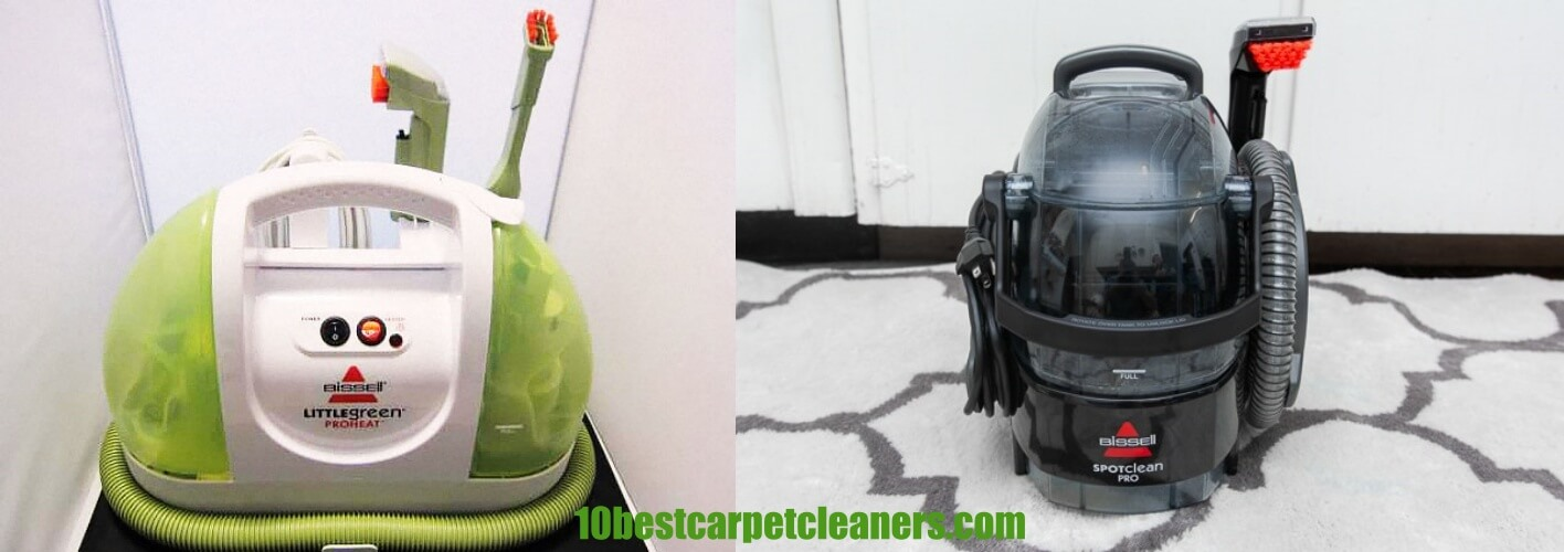 Bissell Spot Clean vs Little Green - What is the difference