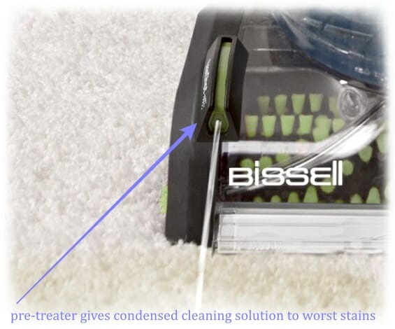 cleanshot pretreater of Bissell 36Z9