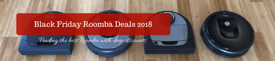 Black Friday Roomba Deals in 2018