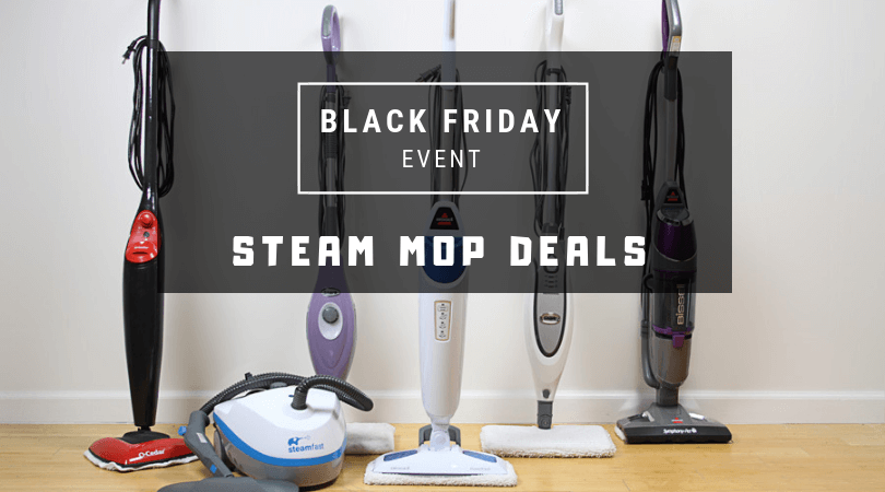 black friday steam mop deal