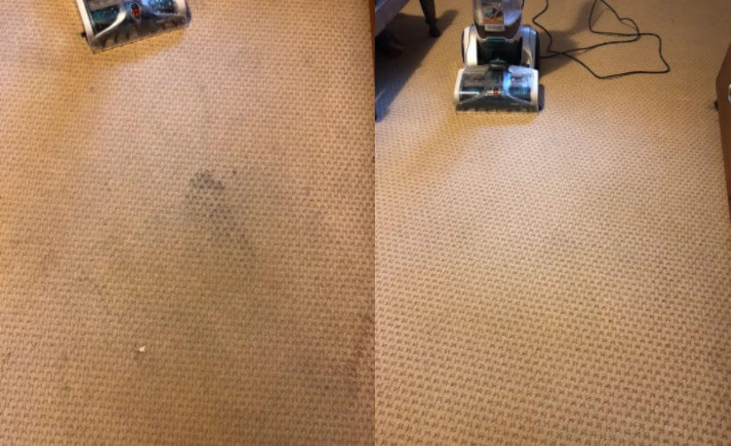 Hoover Smartwash Automatic Carpet Cleaner results