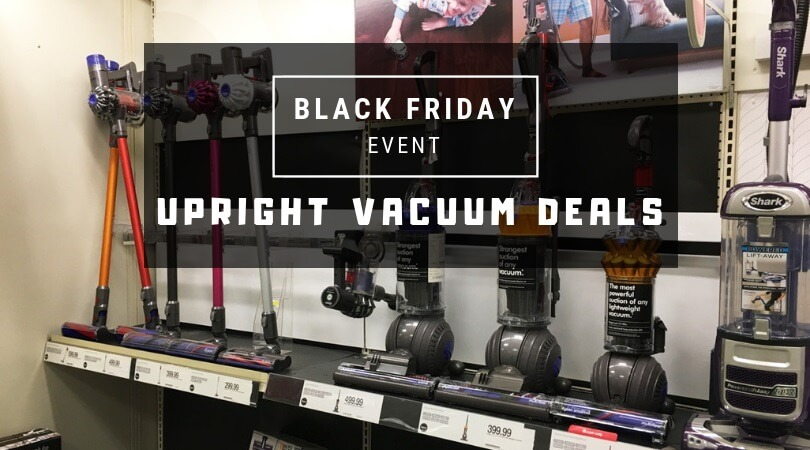 black friday 2018 upright vacuum deals